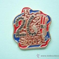 Coleccionismo deportivo: PIN 26 TROBADA DE PEÑAS BARCELONISTAS DE SANTA POLA. Lote 22088701