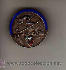 IMPORTANTE PIN DE ESQUI - LE BREVENT - ESMALTE (Coleccionismo Deportivo - Pins otros Deportes)