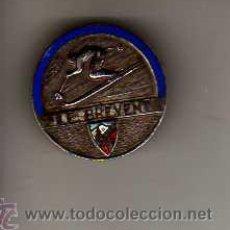 Coleccionismo deportivo: IMPORTANTE PIN DE ESQUI - LE BREVENT - ESMALTE . Lote 22297794