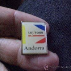 Coleccionismo deportivo: PIN CICLISMO TOUR DE FRANCIA ANDORRA ( BICICLETA ). Lote 26671052