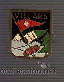 PIN AGUJA ALTA MONTAÑA ESQUI. NIEVE VILLARS SUIZA (Coleccionismo Deportivo - Pins otros Deportes)