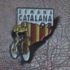 Coleccionismo deportivo: PIN CICLISMO BICICLETA SEMANA CATALANA SETMANA CATALANA 1993. Lote 28212465