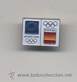 PIN COE PARA LA OLIMPIADA ATENAS 2004 (Coleccionismo Deportivo - Pins otros Deportes)