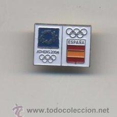 Coleccionismo deportivo: PIN COE PARA LA OLIMPIADA ATENAS 2004. Lote 186378427