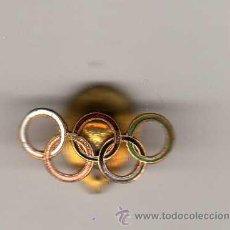 Coleccionismo deportivo: INSIGNIA SOLAPERA ANTIGUA - OLIMPIADA. Lote 28791803