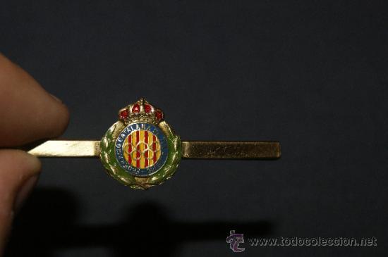 Coleccionismo deportivo: Antigua aguja de corbata de la federacio catalana de tir olimpic, tiro olimpico - Foto 2 - 36118348
