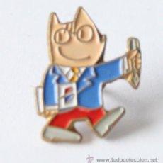 Coleccionismo deportivo: PIN COBI MASCOTA JUEGOS OLIMPICOS OLIMPIADAS BARCELONA 1992 92 PUBLICIDAD BANESTO. Lote 36283365