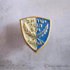 Coleccionismo deportivo: ANTIGUO PIN/INSIGNIA DEPORTES. FEDERACIÓN ISRAEL. Lote 36608538