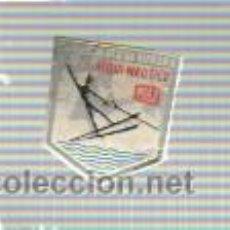 Coleccionismo deportivo: INTERESANTE INSIGNIA DEL CAMPEONATO DE EUROPA ESQUI NAUTICO 1957. Lote 37393942