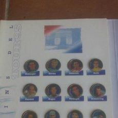 Coleccionismo deportivo: LOS PINS DEL TOUR 95. DEL DIARIO EL MUNDO. 20 DISTINTOS,COMPLETO.. Lote 37863332