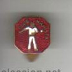 Coleccionismo deportivo: INTERESANTE Y BUEN PIN INSIGNIA ESMALATADO PELOTA VASCA - CLUB MANISTA. Lote 38673727