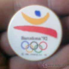 Coleccionismo deportivo: PIN OLIMPIADAS BARCELONA 1992 . Lote 38903416