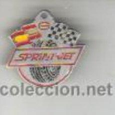 Coleccionismo deportivo: AGUJA PIN INSIGINIA DE CARRERAS RALLY COCHES SPRINT - JET NEUMATICOS. Lote 39167910