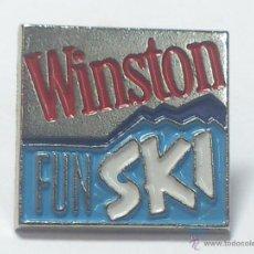 Coleccionismo deportivo: PIN WINSTON FUN SKI. Lote 39998953