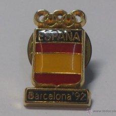 Coleccionismo deportivo: PIN ESPAÑA BARCELONA 92. Lote 40032129