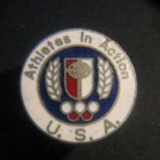 Coleccionismo deportivo: ATHLETES IN ACTION.USA .PIN ESMALTADO.. Lote 40856059