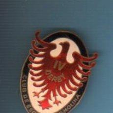 Coleccionismo deportivo: AGUJA PIN INSIGNIA - CLUB DE ESQUI SUPER MOLINA IV DERBI ESMALTADA - MEDIDA GRANDE. Lote 41350639