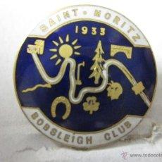 Coleccionismo deportivo: SAINT MORITZ BOBBLEIGH CLUB - 1933 - (V-434). Lote 41584339