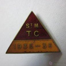 Coleccionismo deportivo: SAINT MORITZ T C - 1935-36 - (V-428). Lote 41584532