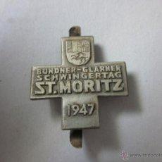 Coleccionismo deportivo: SAINT MORITZ 1947 - (V-427). Lote 41584901