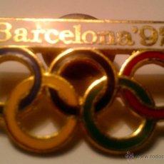 Coleccionismo deportivo: PIN - INSIGNIA -JUEGOS OLYMPICOS - BARCELONA 92 -. Lote 41759028