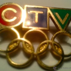 Coleccionismo deportivo: PIN - INSIGNIA OLYMPICOS - C T V -. Lote 41759048