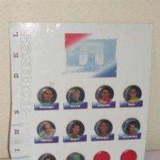 Coleccionismo deportivo: LOTE 10 PINS CICLISTAS / CICLISMO - TOUR 95.. Lote 42749789
