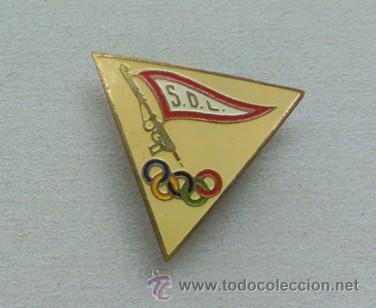 PIN INSIGNIA OLIMPIADAS S. D- L- (Coleccionismo Deportivo - Pins otros Deportes)