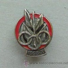 Coleccionismo deportivo: PIN INSIGNIA OLIMPIADAS 1968 -1970. Lote 44830740