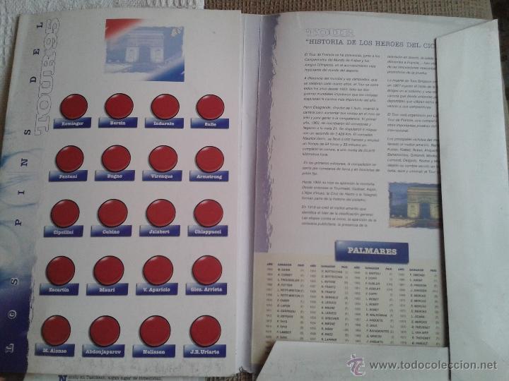 Coleccionismo deportivo: PINS DEL TOUR DE FRANCIA COLECCION AÑO 95 CON LAS FICHAS - Foto 3 - 45445635