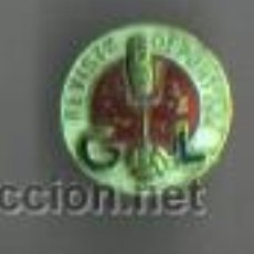 Coleccionismo deportivo: MUY BUENA INSIGNIA PIN - DE LA REVISTA DEPORTIVA GOL - . Lote 45613601