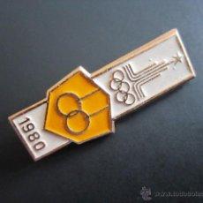 Coleccionismo deportivo: ANTIGUO PIN OLIMPIADA 1980. Lote 46426250