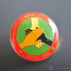 Coleccionismo deportivo: ANTIGUO PIN XXIVTH CEREMONIA OLIMPIADA SEOUL, 1988. Lote 46426286