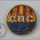 Coleccionismo deportivo: PIN DEL CLUB DE NATACIÓ CATALUNYA / CATALUÑA - CNC - NATACIÓN - MEDIDAS 20 MM DE DIÁMETRO - #PLS. Lote 47086512