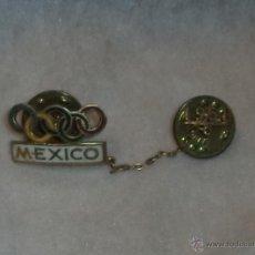 Coleccionismo deportivo: ANTIGUO PIN OLIMPICO. MEXICO 1968.. Lote 48549758