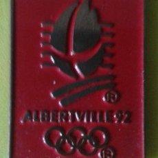 Coleccionismo deportivo: PIN OLIMPIADAS ALBERTVILLE 92. Lote 48894121