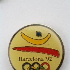 Colecionismo desportivo: PIN DE LAS OLIMPIADAS DE BARCELONA 92 / JUEGOS OLÍMPICOS 1992 - MEDIDAS 17 MM DIÁM - #PLS. Lote 48897465