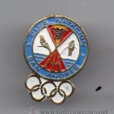 Coleccionismo deportivo: (A232) INSIGNIA DE AGUJA - CLUB NATACION SAN ANDRES. Lote 50710781