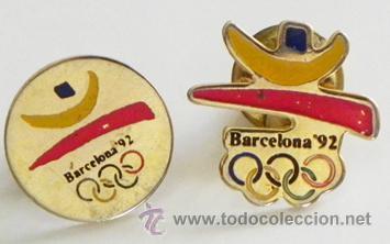 4 Cada Pin Logotipo De Juegos Olimpicos Barce Comprar En