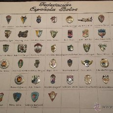 Coleccionismo deportivo: LOTE PIN COLECCION MUY RAROS Y ANTIGUOS FEDERACIÓN ESPAÑOLA DE BOLOS (LEER TEXTO). Lote 53310906