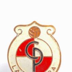 Coleccionismo deportivo: PIN INSIGNIA DE METAL CON OJAL LA FELGUERA. Lote 54662835