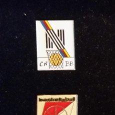Coleccionismo deportivo: GOM-1344_PINS COMITÉS BALONCESTO FRANCIA. Lote 56235617
