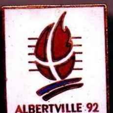 Coleccionismo deportivo: INSIGNIA ESMALTADA - PIN DE LOS JUEGOS OLIMPICOS DE INVIERNO ALBERTVILLE 1992. Lote 64398871