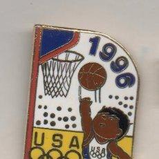 Coleccionismo deportivo: PIN DE DEPORTES- JUEGOS OLIMPICOS DE ATLANTA 1996. Lote 77301305