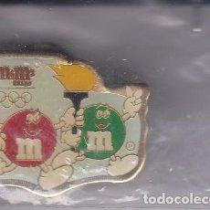 Coleccionismo deportivo: PIN DE M&MS DE TEMA OLIMPIADAS (OLYMPIC GAMES). Lote 80232849
