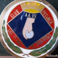 Coleccionismo deportivo: INSIGNIA CLUB LAS PLANAS ST.JOAN DE DESPI. Lote 80817375