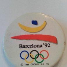 Colecionismo desportivo: CHAPA PIN OLIMPIADAS BARCELONA 92. Lote 81201320