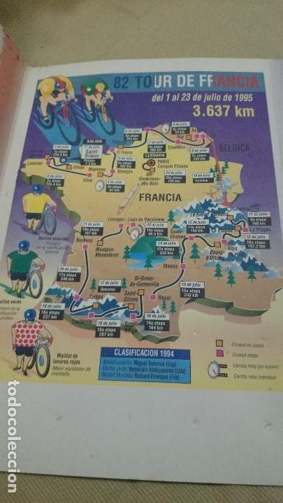 Coleccionismo deportivo: LOS PINS DEL TOUR 95,PIN CICLISTA - Foto 3 - 83551684