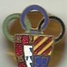 Coleccionismo deportivo: (P-44) INSIGNIA DE SOLAPA ESMALTADA C.D. PA. Lote 83578268