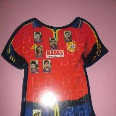Coleccionismo deportivo: LOTE 7 PINS+SOPORTE-MARCA-EUROCOPA 2000-VER FOTOS.. Lote 87646168